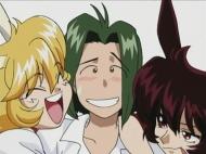 Мой пушистый кролик / Usagi-chan de Cue!! (Ёсида Тору) [OVA] [01-03 из 3] [Без хардсаба] [RUS(int), JAP] [2001 г., комедия, романтика, махо-сёдзё, этти, DVD-Rip] [16+]